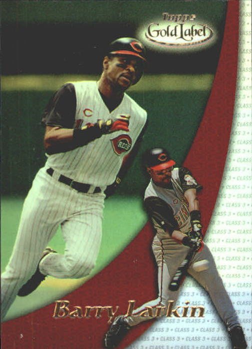 2000 Topps Gold Label Class 3 #33 Barry Larkin