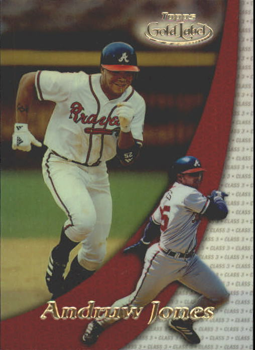 2000 Topps Gold Label Class 3 #38 Andruw Jones