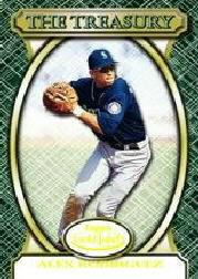 2000 Topps Gold Label The Treasury #T8 Alex Rodriguez