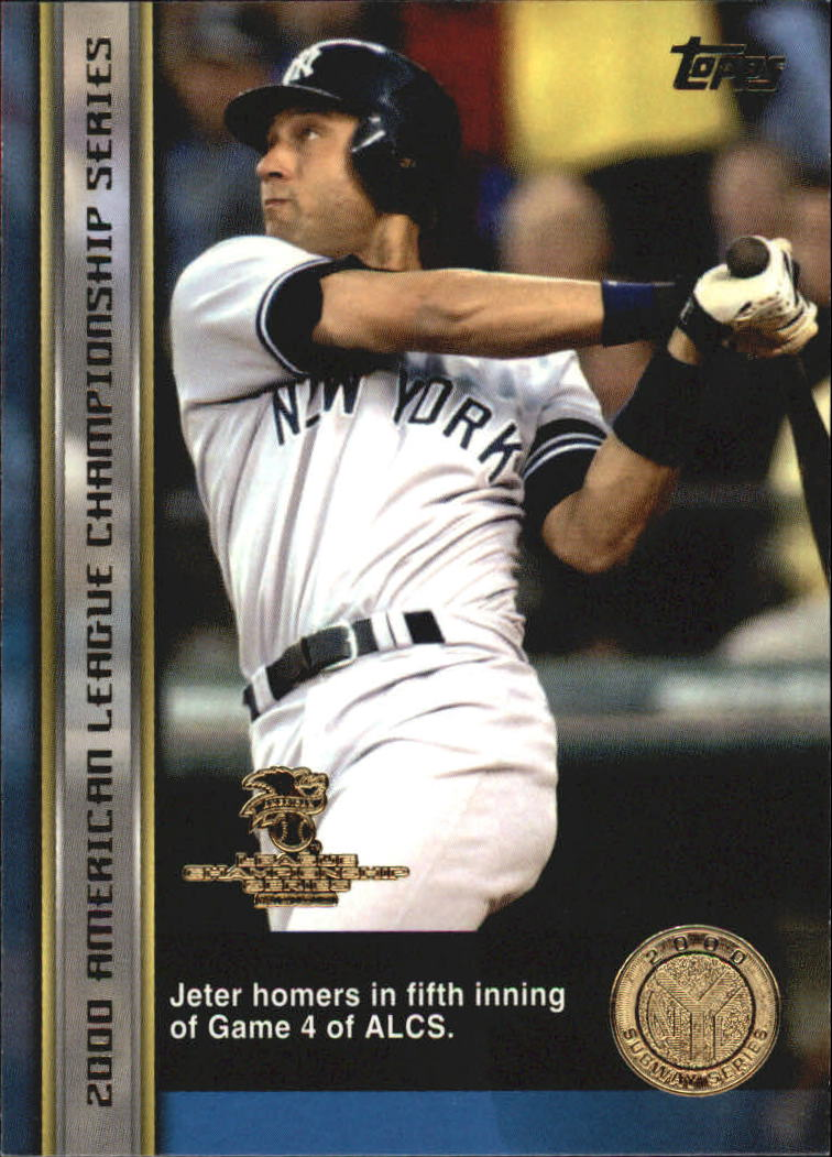 2000 Topps Subway Series #78 Derek Jeter