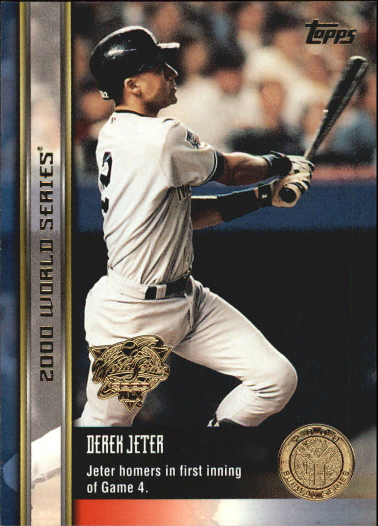 2000 Topps Subway Series #92 Derek Jeter