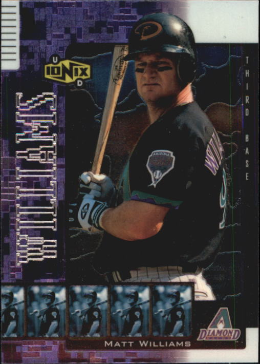 2000 UD Ionix #20 Matt Williams