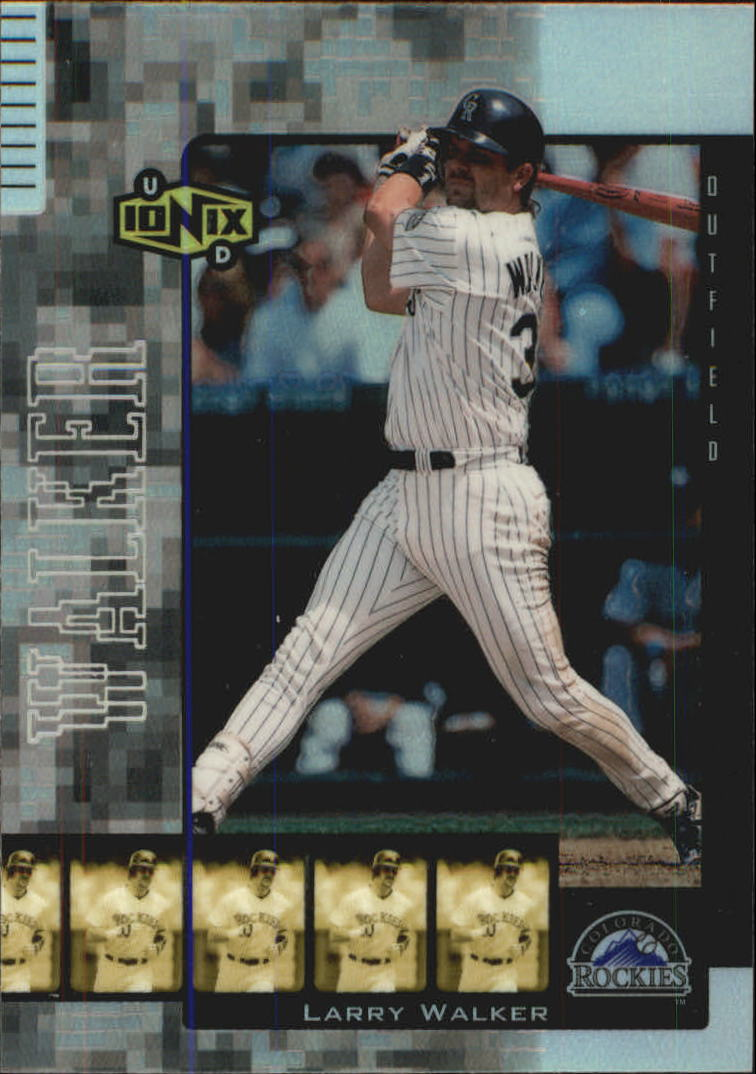 2000 UD Ionix Reciprocal #R49 Larry Walker