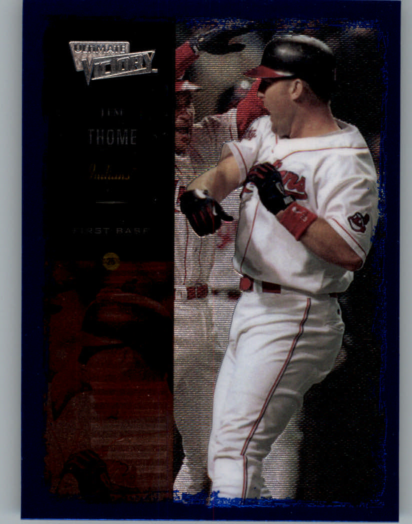 2000 Ultimate Victory #16 Jim Thome