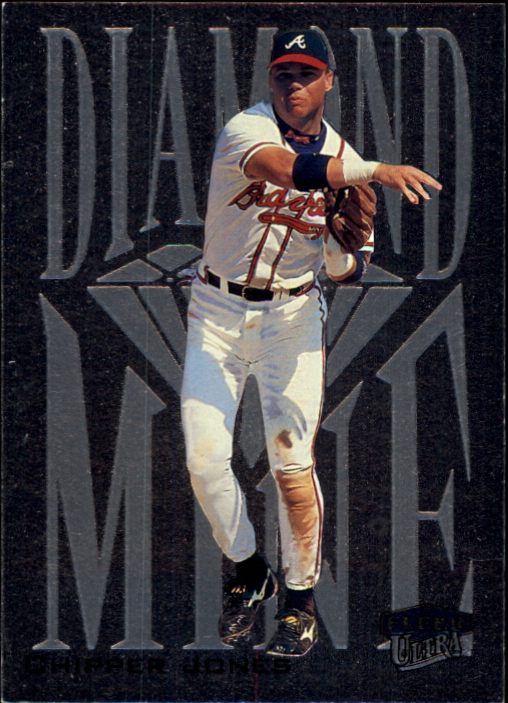 2000 Ultra Diamond Mine #12 Chipper Jones
