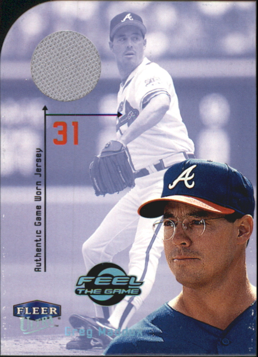 2000 Ultra Feel the Game #4 Greg Maddux Jsy