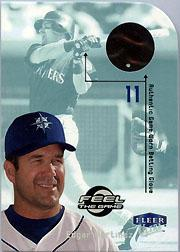 2000 Ultra Feel the Game #15 Edgar Martinez Btg Glv