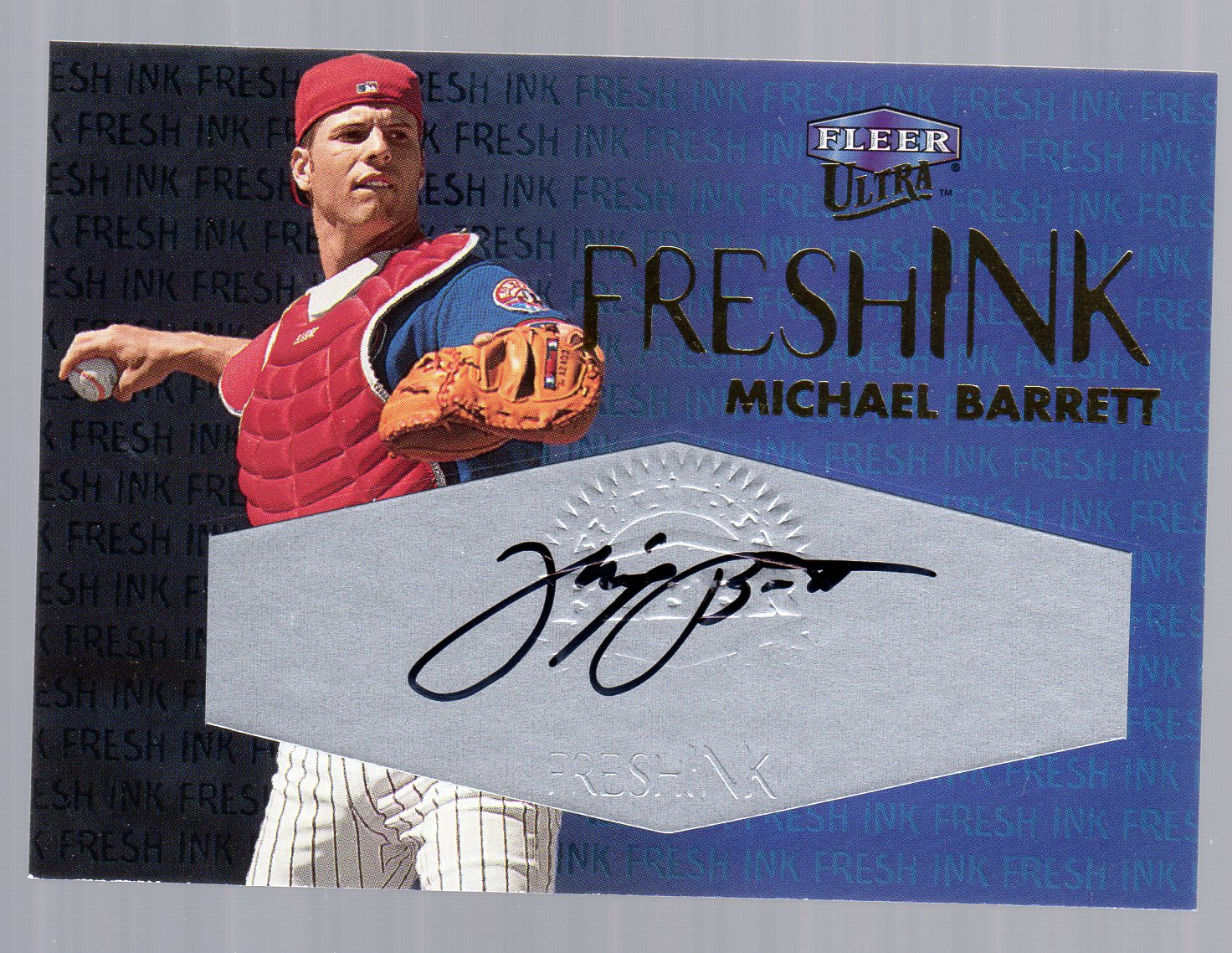 2000 Ultra Fresh Ink #6 Michael Barrett/975