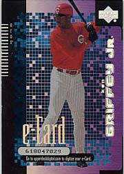 2000 Upper Deck e-Card #E1 Ken Griffey Jr.