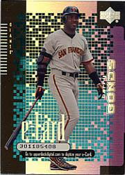 2000 Upper Deck e-Card #E5 Barry Bonds
