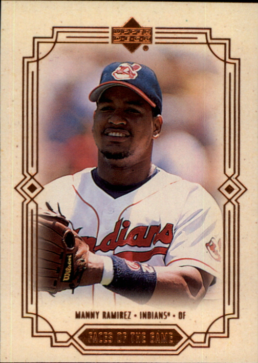 2000 Upper Deck Faces of the Game #F5 Manny Ramirez