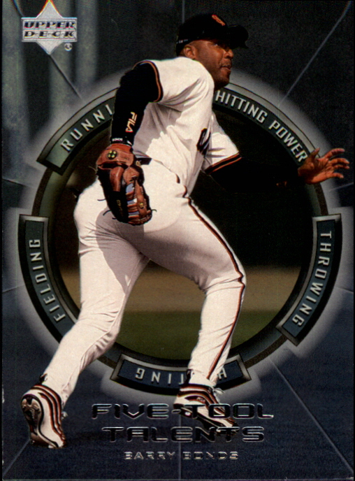 2000 Upper Deck Five-Tool Talents #FT2 Barry Bonds
