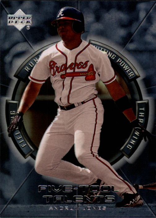 2000 Upper Deck Five-Tool Talents #FT6 Andruw Jones