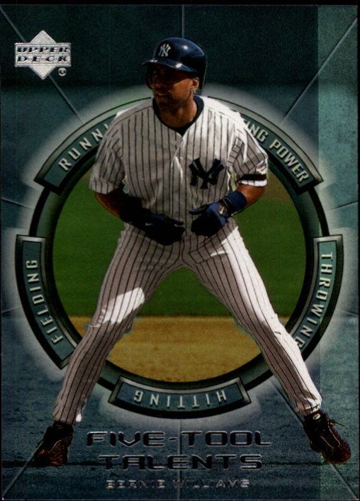 2000 Upper Deck Five-Tool Talents #FT7 Bernie Williams