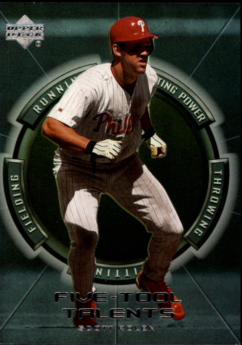 2000 Upper Deck Five-Tool Talents #FT9 Scott Rolen