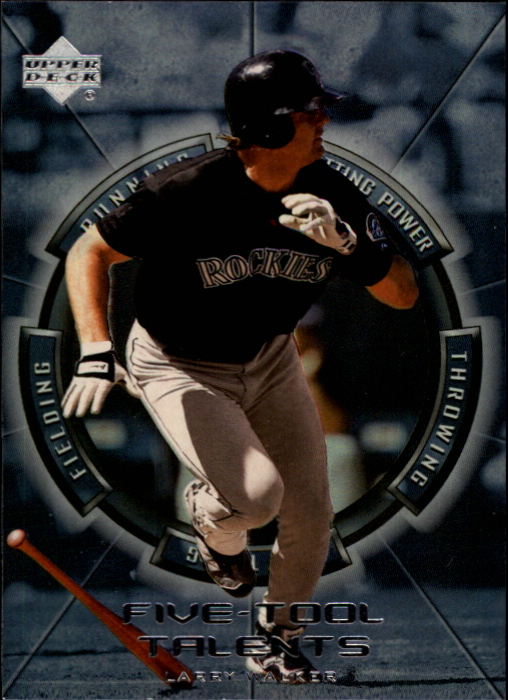 2000 Upper Deck Five-Tool Talents #FT13 Larry Walker