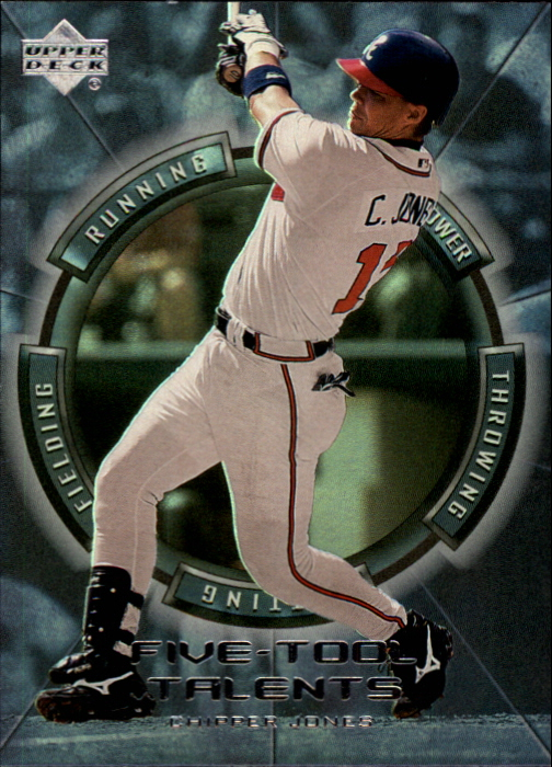 2000 Upper Deck Five-Tool Talents #FT14 Chipper Jones