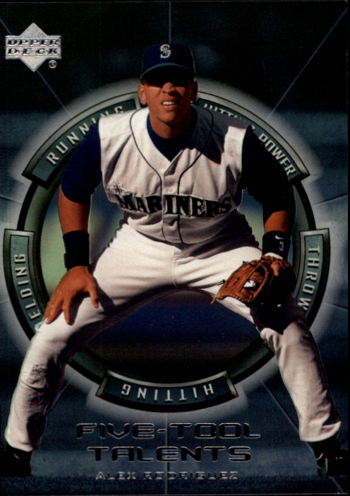 2000 Upper Deck Five-Tool Talents #FT15 Alex Rodriguez
