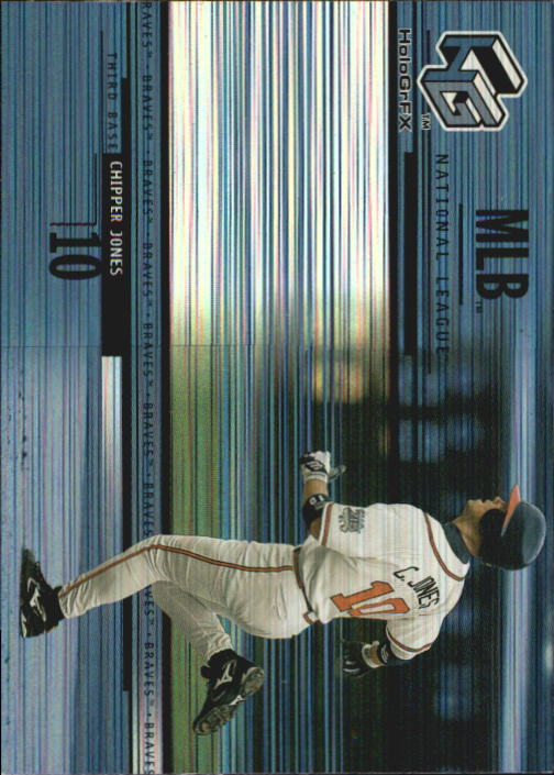 2000 Upper Deck HoloGrFX #13 Chipper Jones