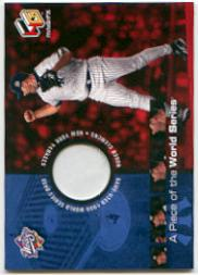 2000 Upper Deck HoloGrFX A Piece of the Series #PS3 Roger Clemens