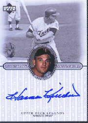 2000 Upper Deck Legends Legendary Signatures #SHK Harmon Killebrew