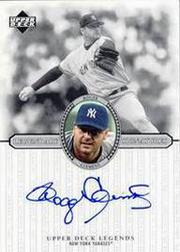 2000 Upper Deck Legends Legendary Signatures #SRC Roger Clemens