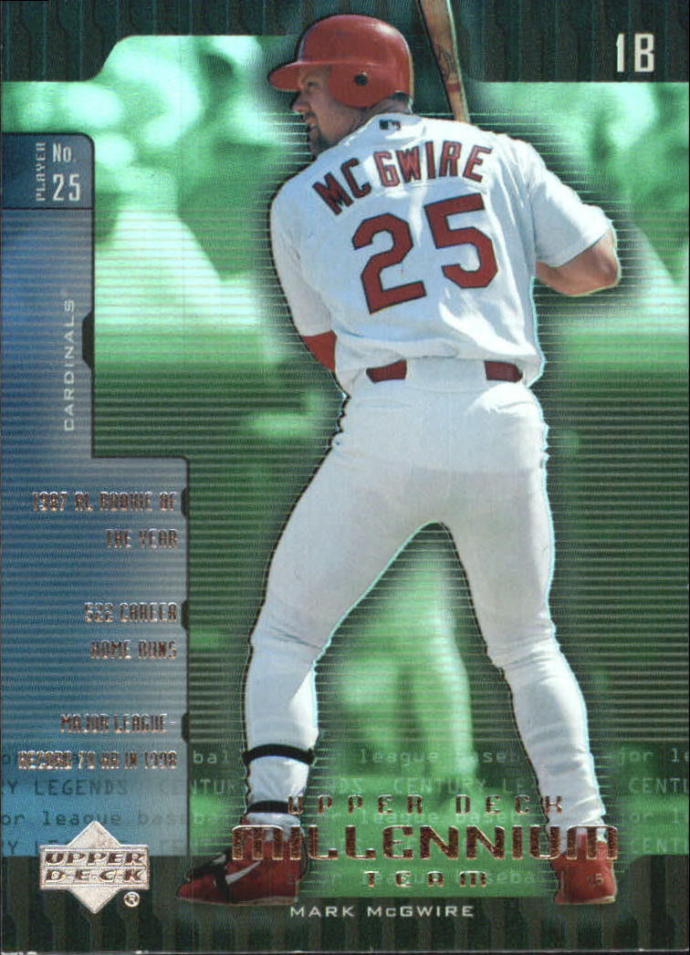 2000 Upper Deck Legends Millennium Team #UD1 Mark McGwire