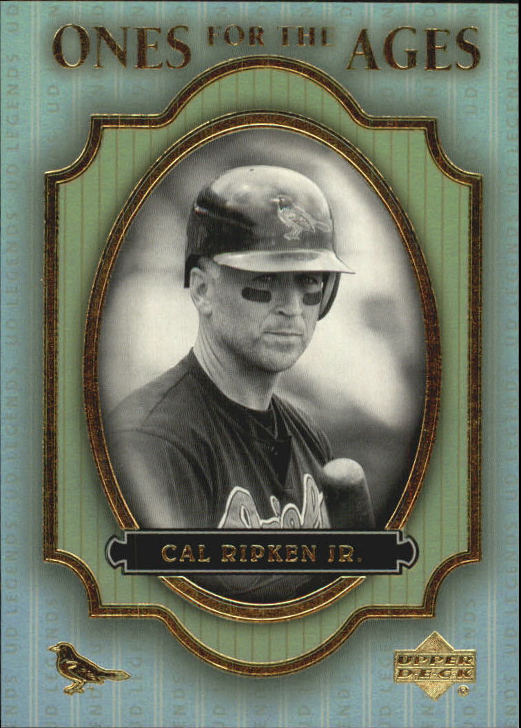2000 Upper Deck Legends Ones for the Ages #O2 Cal Ripken