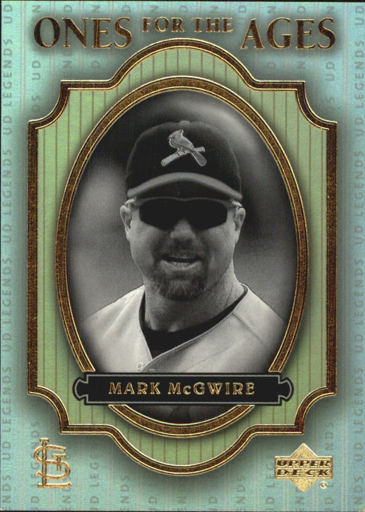 2000 Upper Deck Legends Ones for the Ages #O5 Mark McGwire