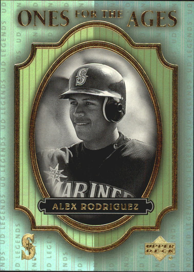2000 Upper Deck Legends Ones for the Ages #O6 Alex Rodriguez