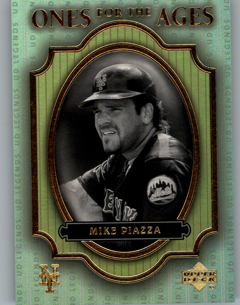 2000 Upper Deck Legends Ones for the Ages #O7 Mike Piazza