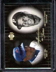 2000 Upper Deck Legends Reflections in Time #R2 S.Sosa/R.Clemente front image