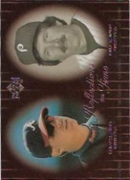 2000 Upper Deck Legends Reflections in Time #R9 C.Jones/M.Schmidt