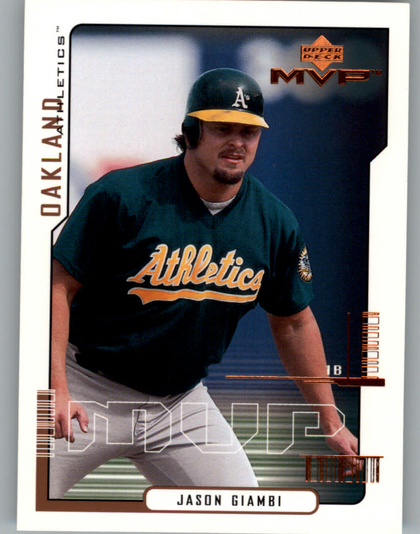 2000 Upper Deck MVP #16 Jason Giambi
