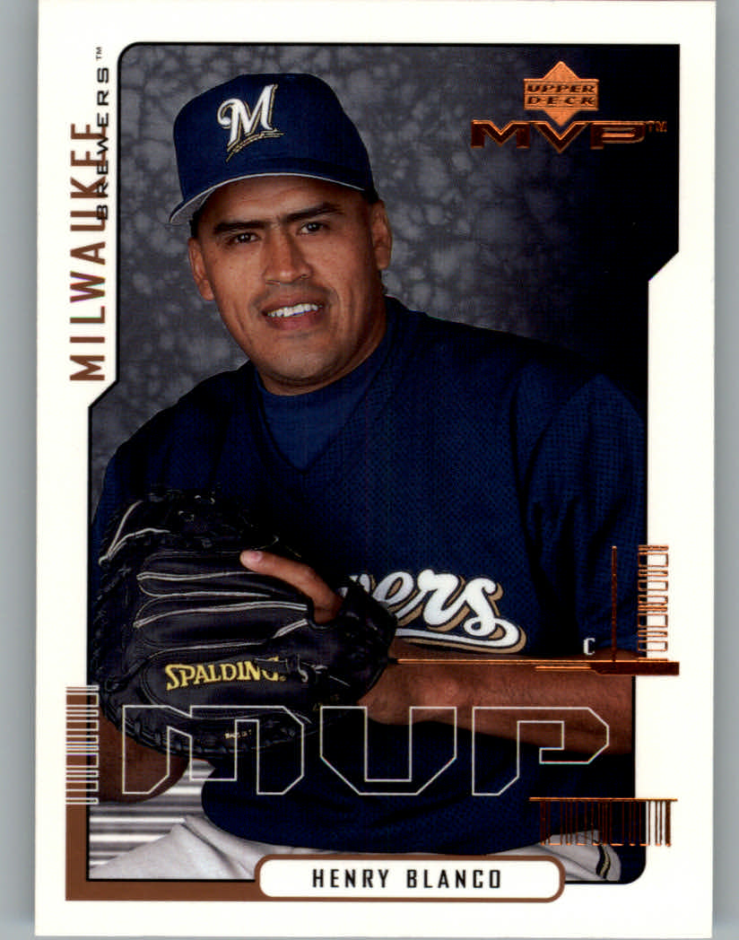 2000 Upper Deck MVP #34 Henry Blanco