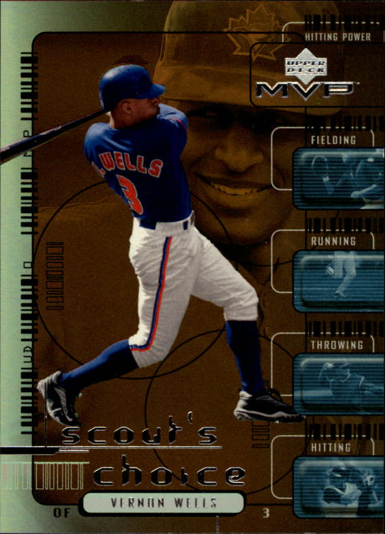 2000 Upper Deck MVP Scout's Choice #SC2 Vernon Wells