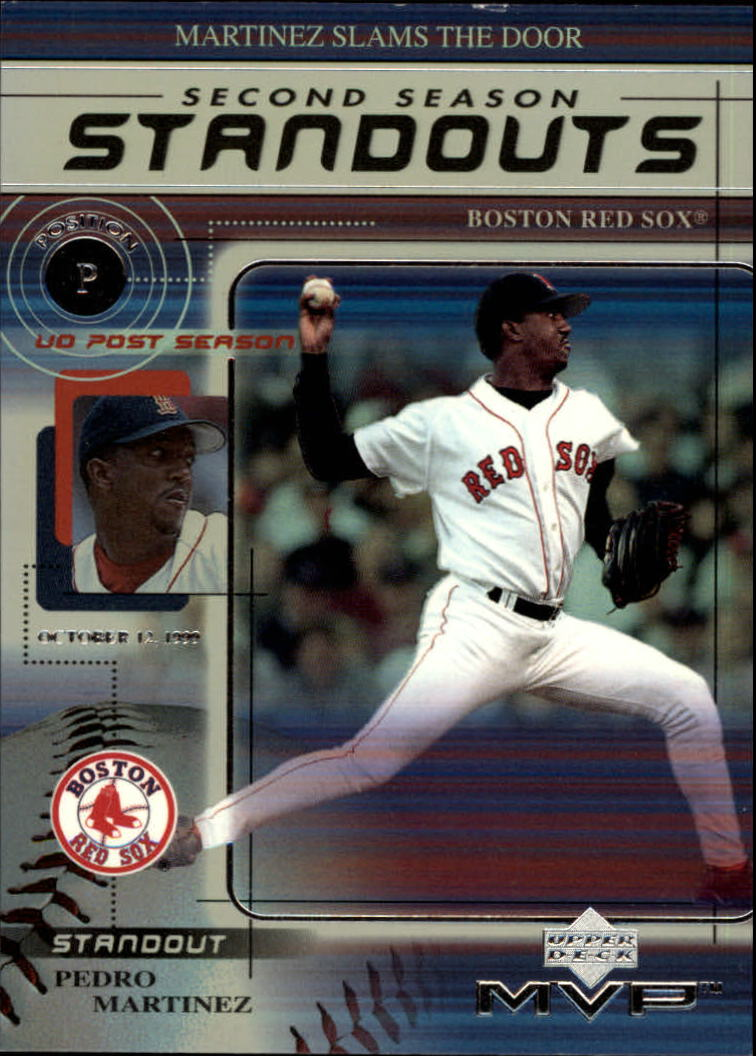 2000 Upper Deck MVP Second Season Standouts #SS1 Pedro Martinez