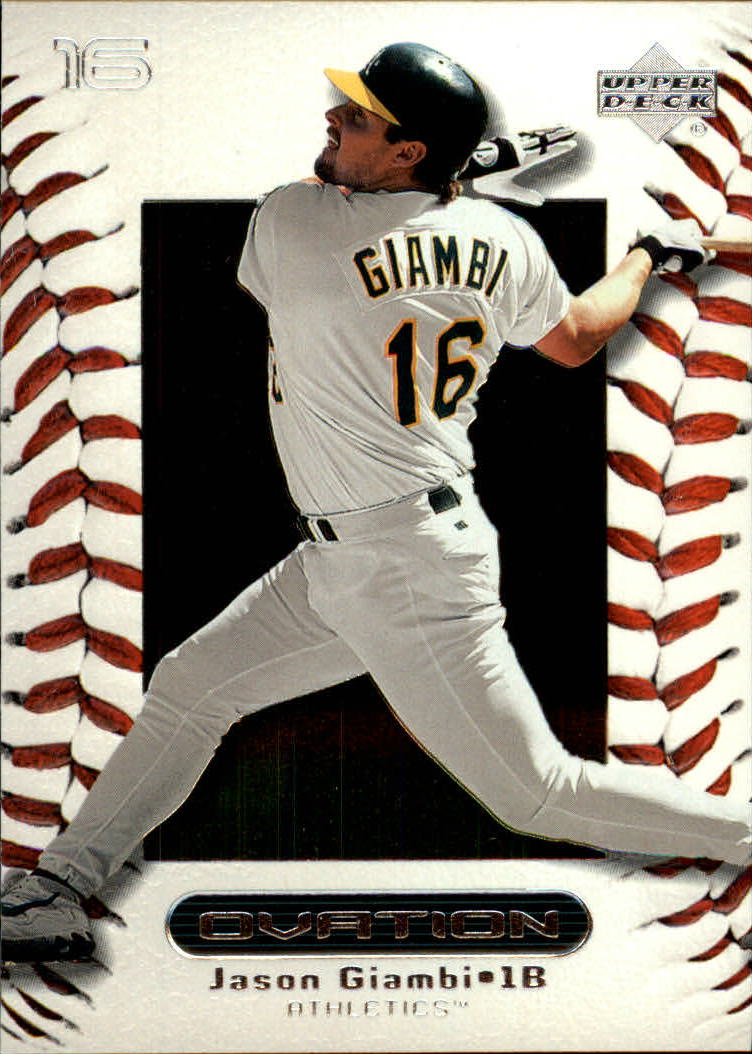 2000 Upper Deck Ovation #6 Jason Giambi
