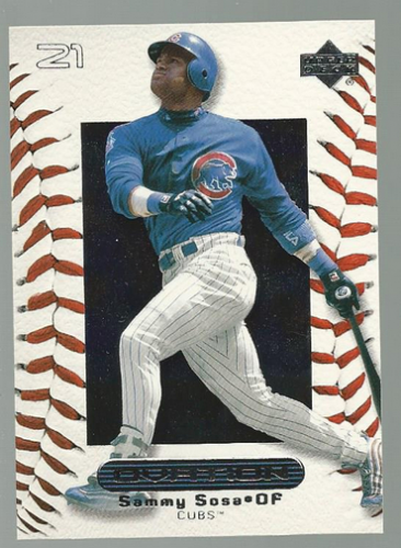 2000 Upper Deck Ovation #15 Sammy Sosa