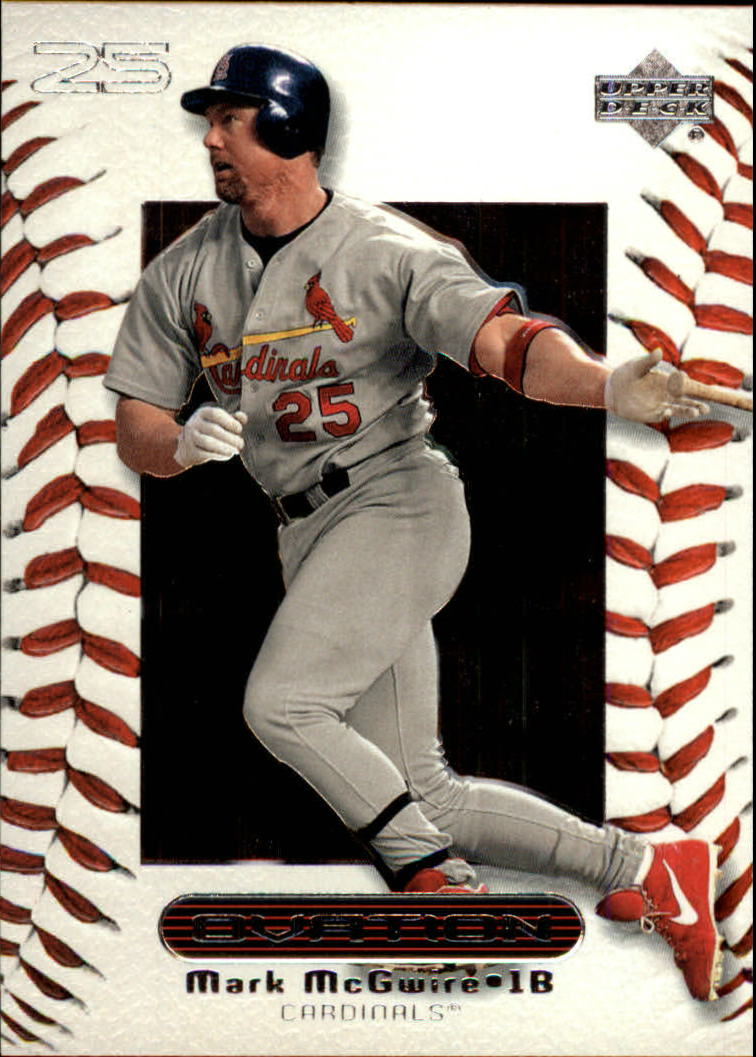 2000 Upper Deck Ovation #16 Mark McGwire