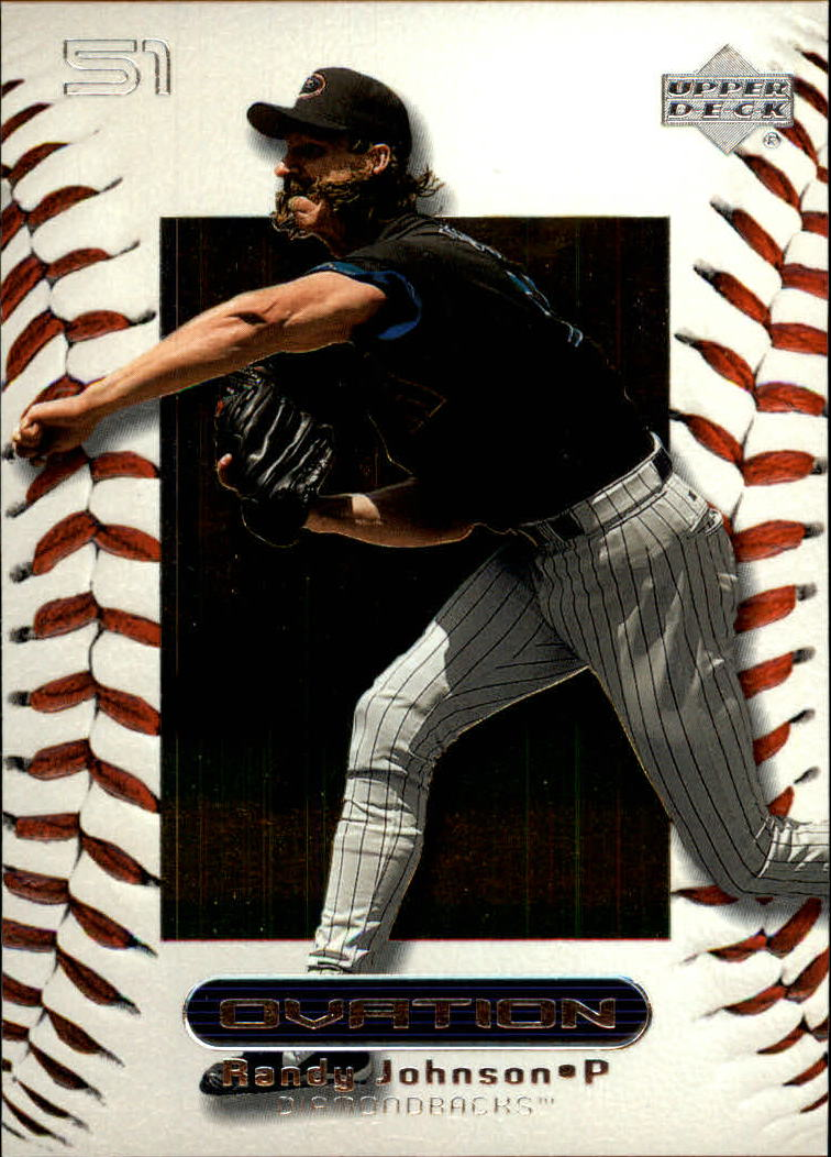 2000 Upper Deck Ovation #18 Randy Johnson