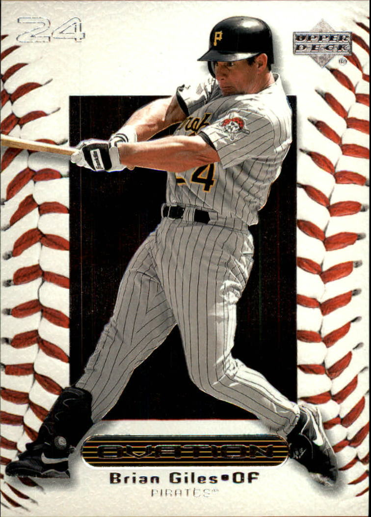 2000 Upper Deck Ovation #39 Brian Giles
