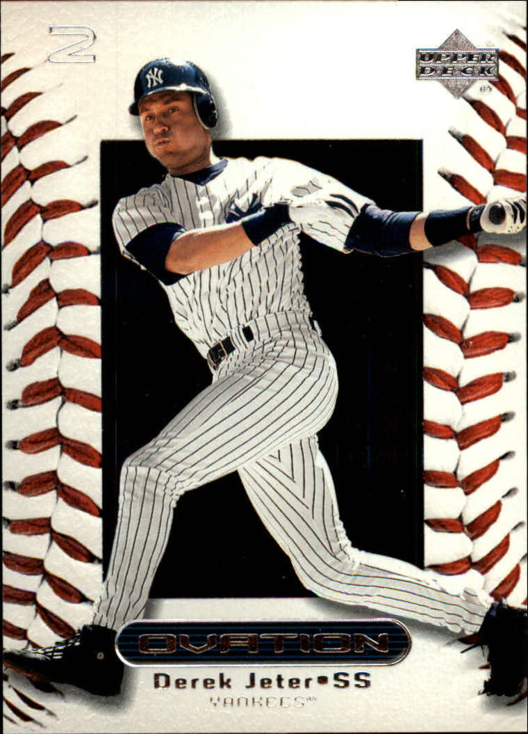 2000 Upper Deck Ovation #58 Derek Jeter