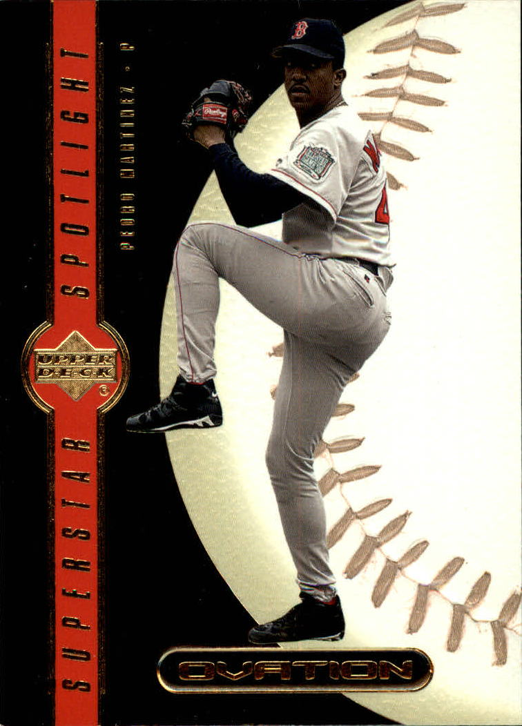 2000 Upper Deck Ovation #90 Pedro Martinez SS