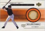 2000 Upper Deck Ovation A Piece of History #CR Cal Ripken