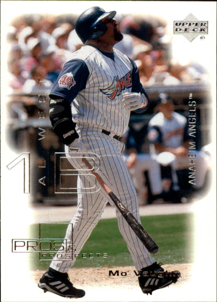 2000 Upper Deck Pros and Prospects #3 Mo Vaughn