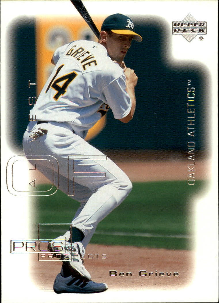 2000 Upper Deck Pros and Prospects #6 Ben Grieve