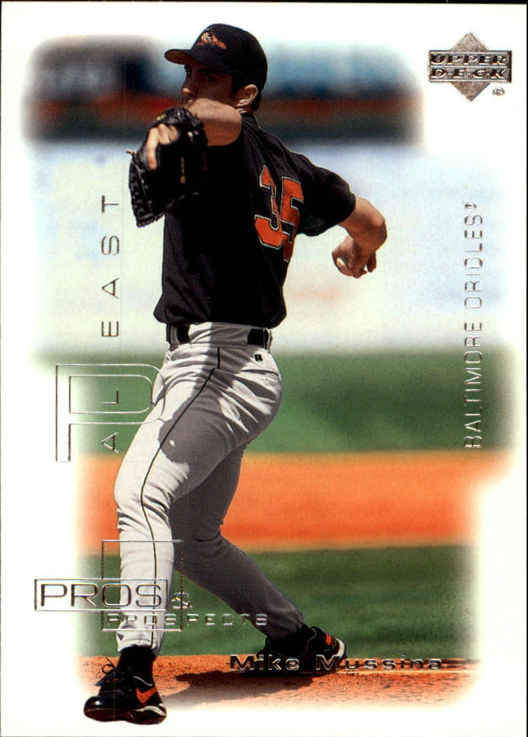 2000 Upper Deck Pros and Prospects #22 Mike Mussina