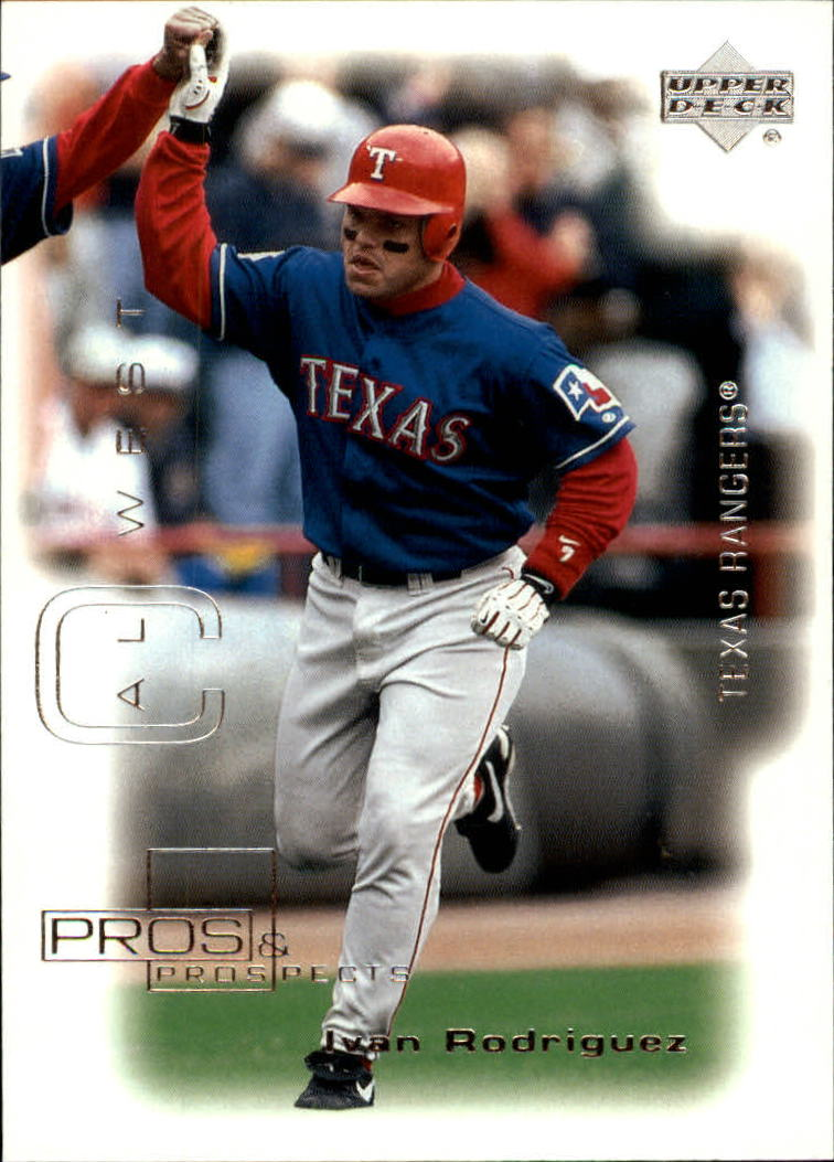 2000 Upper Deck Pros and Prospects #23 Ivan Rodriguez