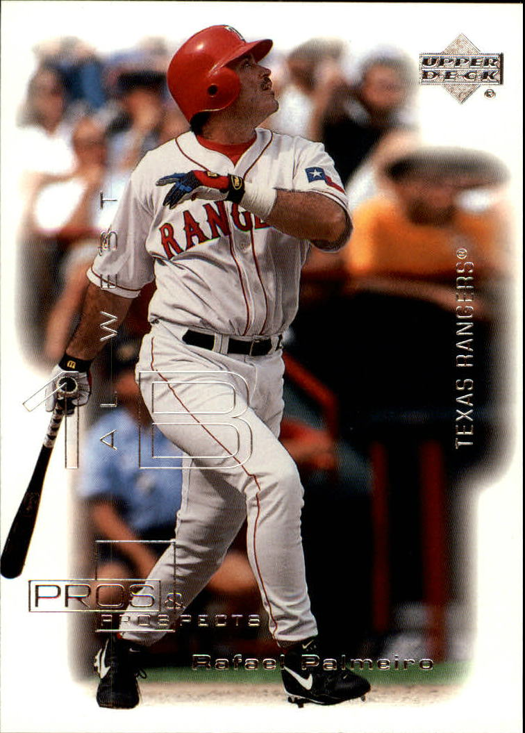 2000 Upper Deck Pros and Prospects #24 Rafael Palmeiro